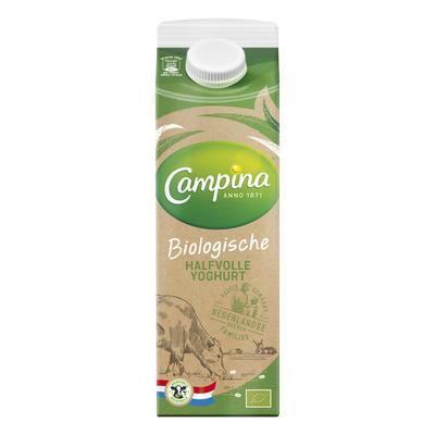 Campina Biologisch halfvolle yoghurt