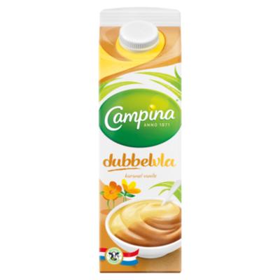 Campina Dubbelvla vanille karamel