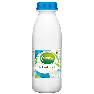 Campina Halfvolle melk houdbaar