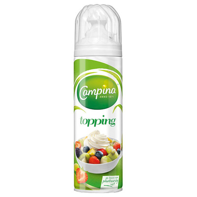 Campina Spuitbus topping