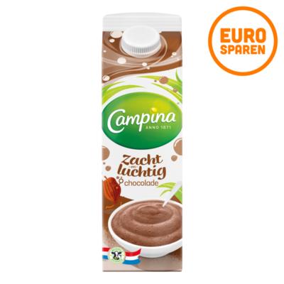 Campina Zacht en Luchtig Chocolade