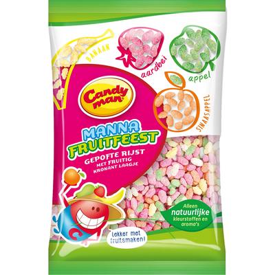Candyman Manna fruitfeest