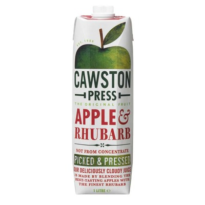 Cawston Press Apple rhubarb