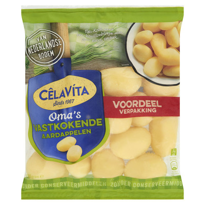 CêlaVíta Oma's vastkokende aardappelen voordeel