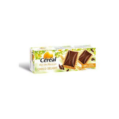 Céréal Minder Suikers Choco Delight Pure Chocolade Koekjes 12 Stuks