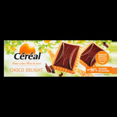 Céréal Minder Suikers Choco Delight 12 Stuks