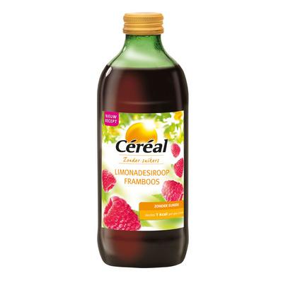 Cereal Limonadesiroop framboos