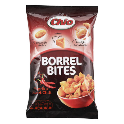 Chio Borrel bites paprika sweet chili