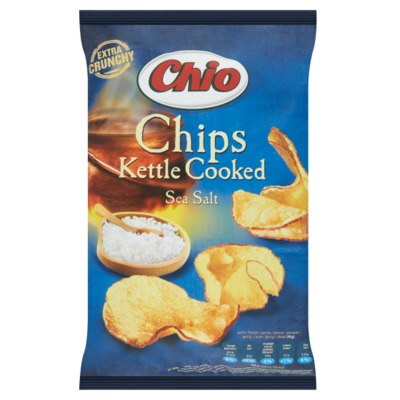 Chio kettle cooked sea salt 120 gram