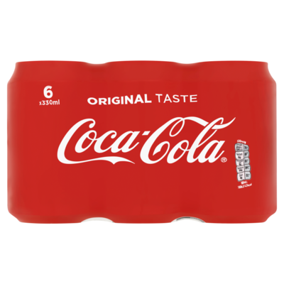 Coca Cola Blik 6 x 33cl