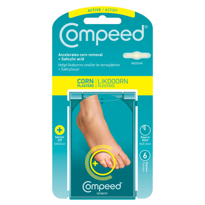 Compeed Likdoornpleisters medium 2 in 1