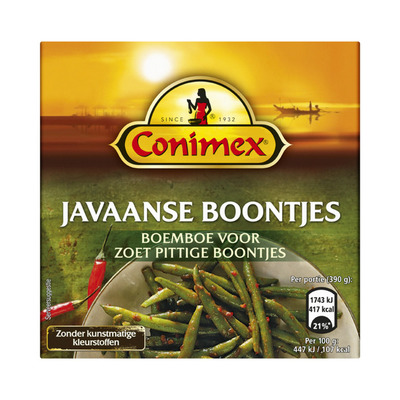 Conimex Boemboe Javaanse boontjes