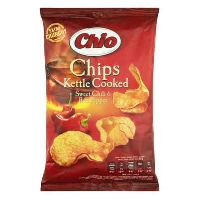 Chio Chips kettle cooked sweet chili pepper