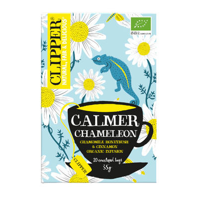 Clipper Calmer chameleon tea 1-kops