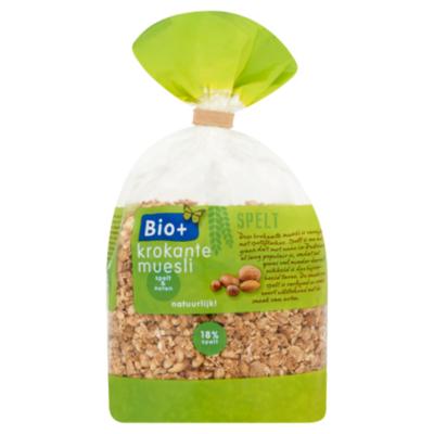 Bio+ Krokante muesli spelt noten biologisch