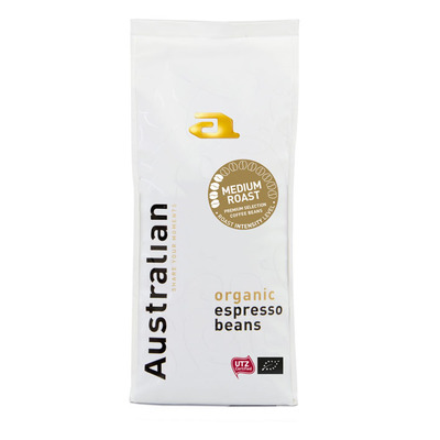 Australian Espresso beans medium roast