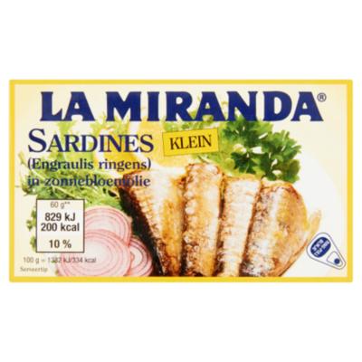 MD Sardines in zonnebloemolie