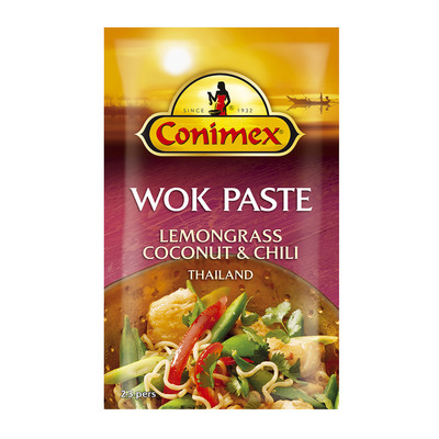 Conimex Wok paste lemongrass & chili