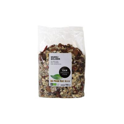 Raw Organic Food Muesli Gojibessen