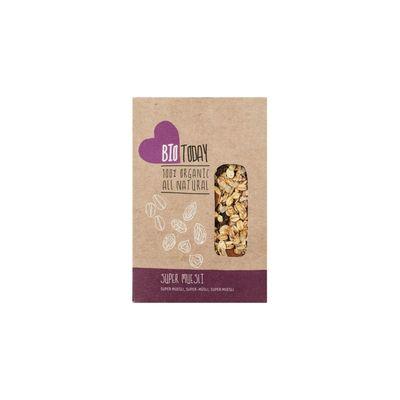 Raw Organic Food Muesli Cacao