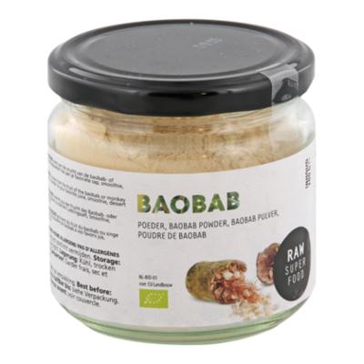 Raw Organic Food Baobab Poeder RAW Bio
