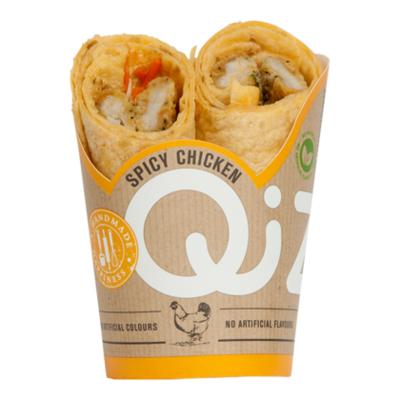 Qizini Wrap spicy chicken