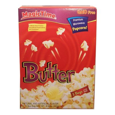 Magic Time Butter Popcorn