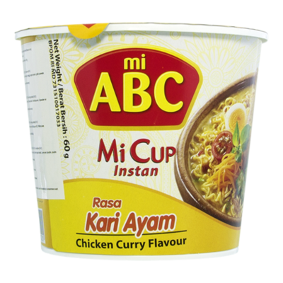 Abc Noodle curry chicken