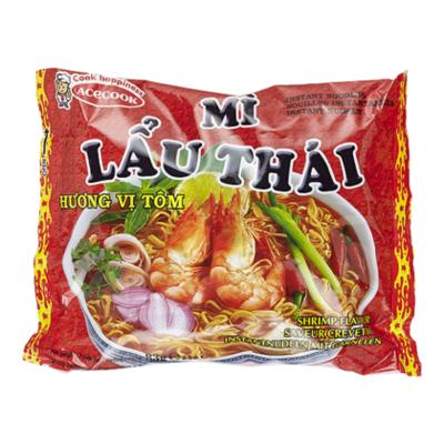 Mi lau thai Garnaalnoodles