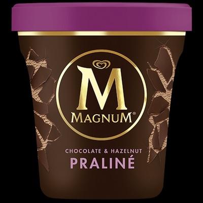 Ola Magnum pint hazelnoot praline