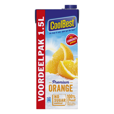CoolBest Orange voordeel