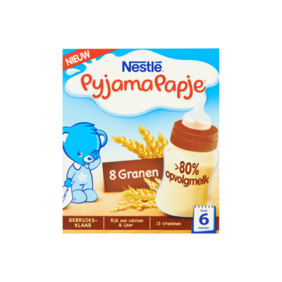 Nestlé Baby PyjamaPapje® 8 Granen