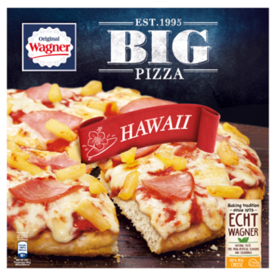 Wagner Big pizza Hawaii