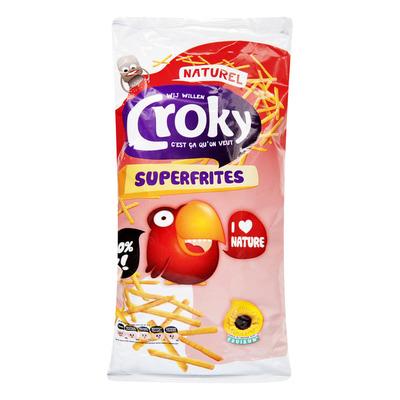 Croky Superfrites naturel