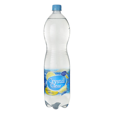 Crystal Clear Sparkling lemon