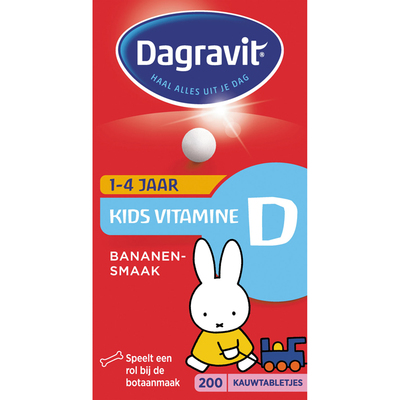 Dagravit Kids vitamine D tabletten