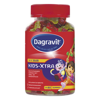 Dagravit Kids-Xtra multivitaminen gummies 3+