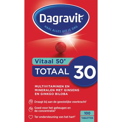 Dagravit Vitaal 50+ tabletten