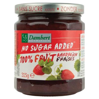 Damhert Aardbeien confituur suikervrij