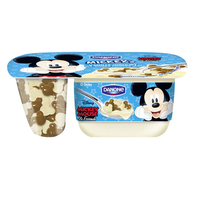 Danone Disney Mickey Mouse yoghurt