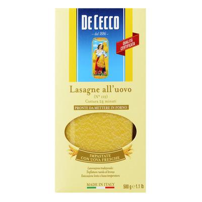 De Cecco Lasagne all'uovo n° 112