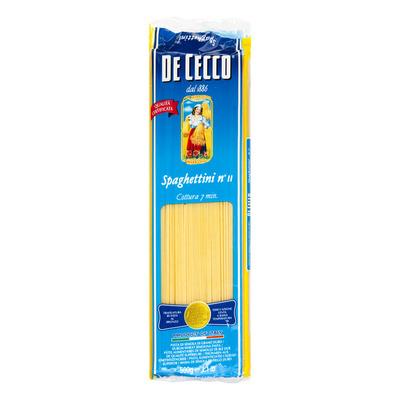 De Cecco Spaghettini n° 11