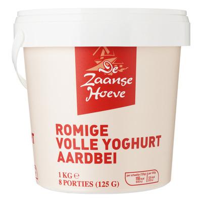 Budget Huismerk Yoghurt aardbei