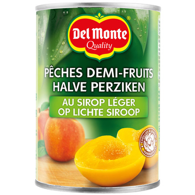Del Monte Halve perziken op lichte siroop