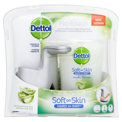 Dettol No touch aloë vera zilver start