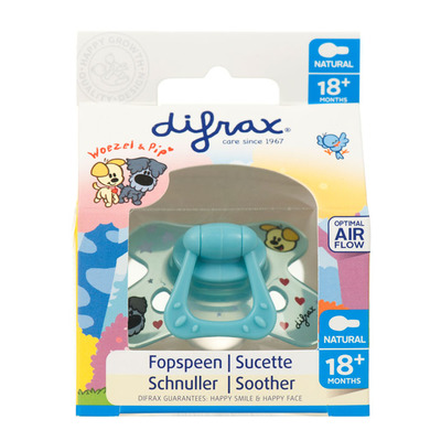 Difrax Fopspeen Woezel & Pip 18 maanden