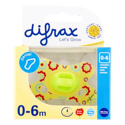 Difrax Fopspeen dental mini 0-6 maanden
