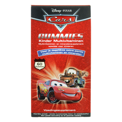Disney Cars multivitamines gummies