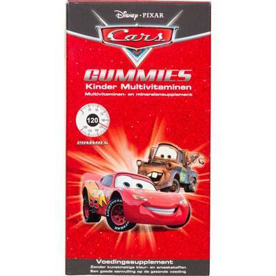 Disney Kinder multivitaminen gummies Cars