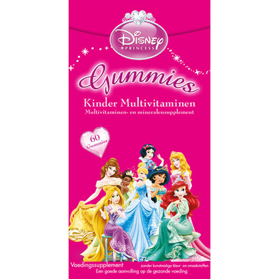 Disney Kinder multivitaminen gummies Princess